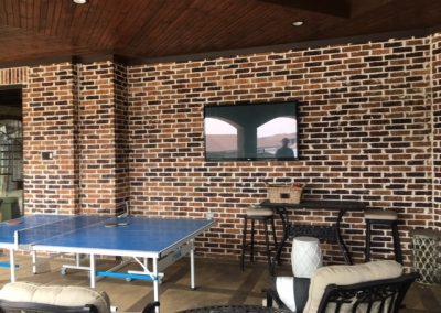 Hang TV porch 3